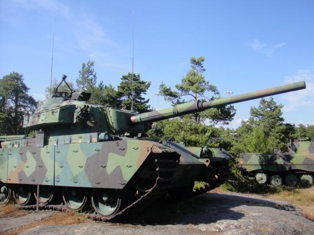 swedish tanks