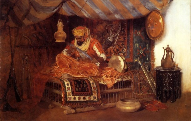 William Merritt Chase The Moorish Warrior