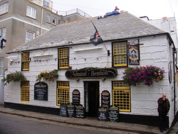 admiral benbow penzance