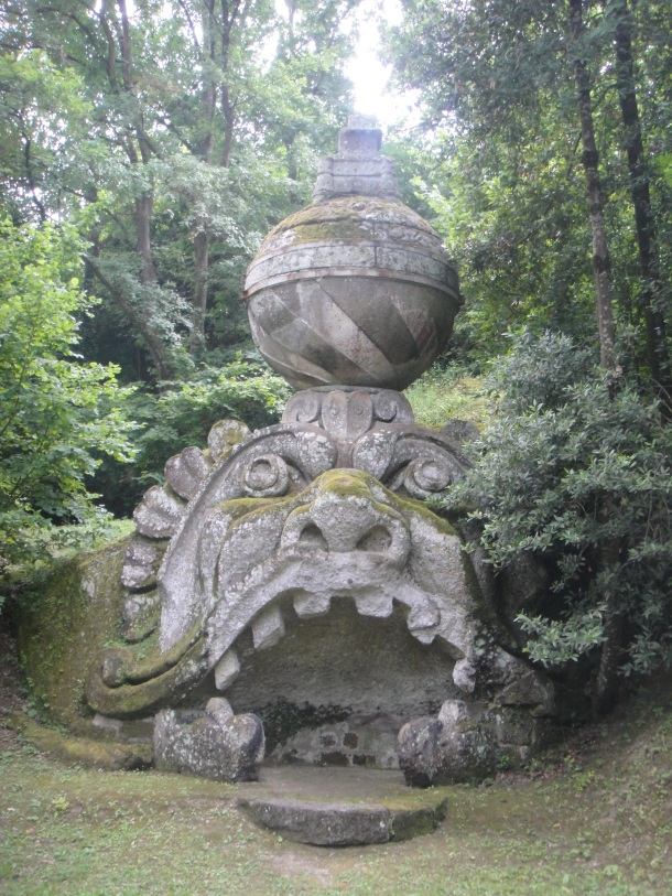 bomarzo mask of madness fortified sphere