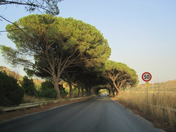 country road sicily