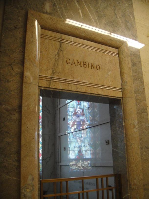 gambino family crypt