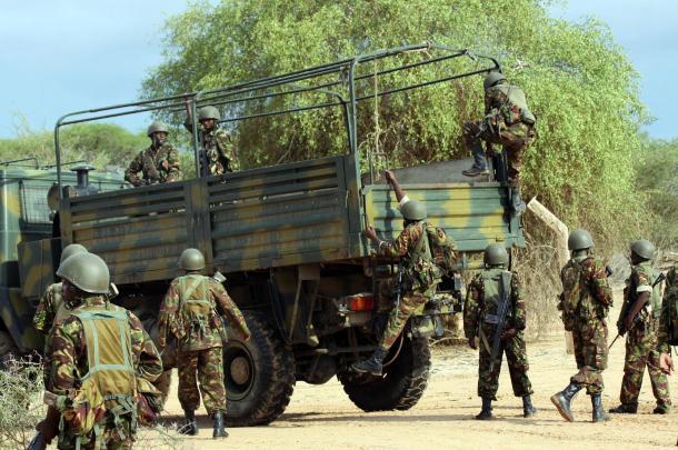 kenya soldiers military somalia
