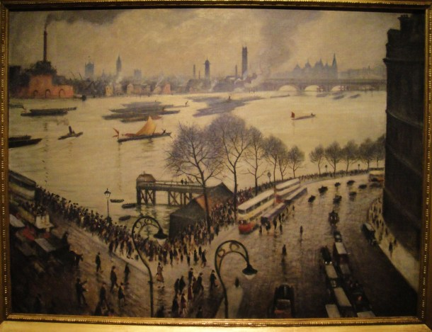 nevinson blackfriars bridge