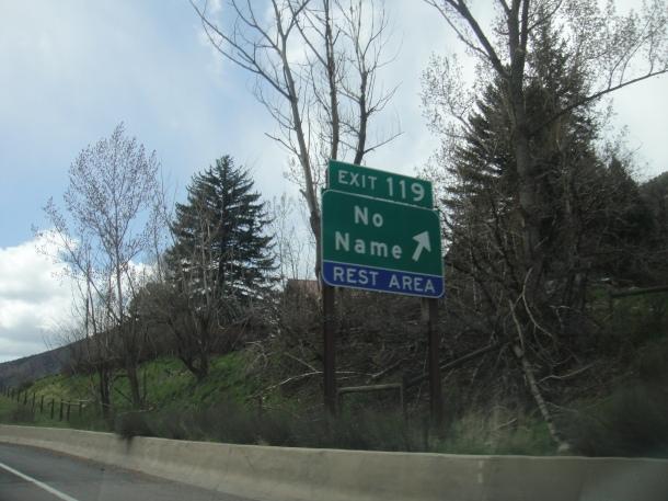 no name rest area