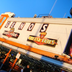 Photos Of The Day: Geno's Philly Cheesesteaks