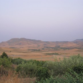 Driving Through The SicilianCountryside