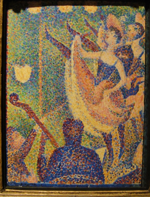 study for the chahut georges seurat