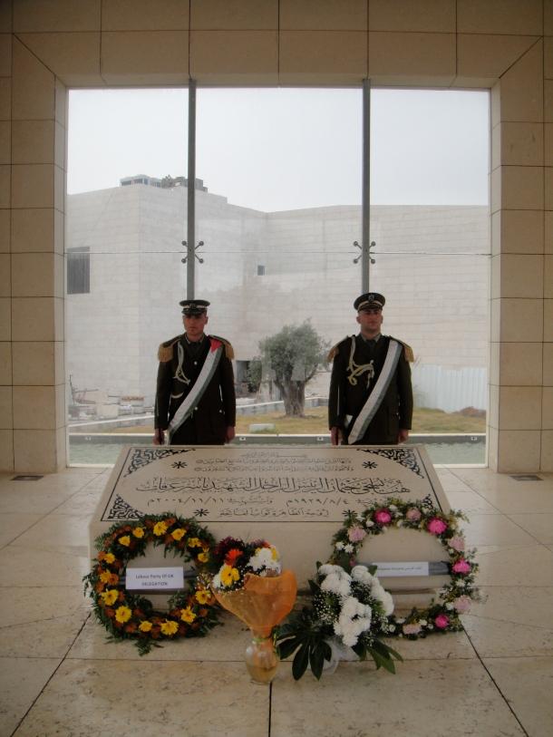 arafat grave ramallah