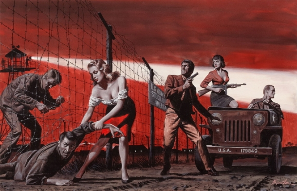 mort kunstler escape