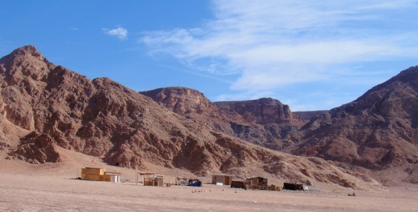 sinai desert bedouin camp