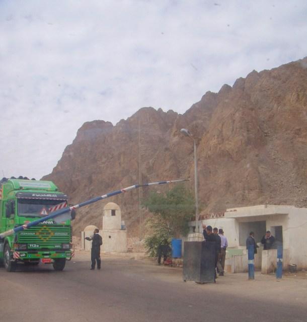 sinai peninsula checkpoint