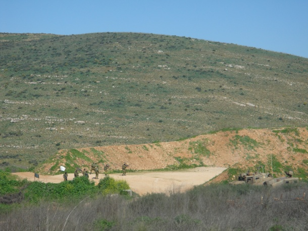 metula  IDF training