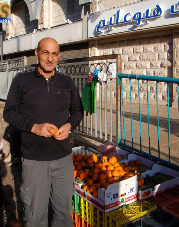 nazareth fruit seller