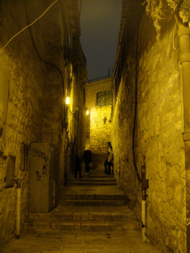 alley jerusalem old city