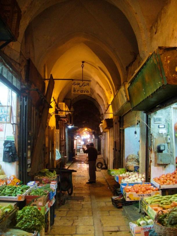 street market jerusalem old city