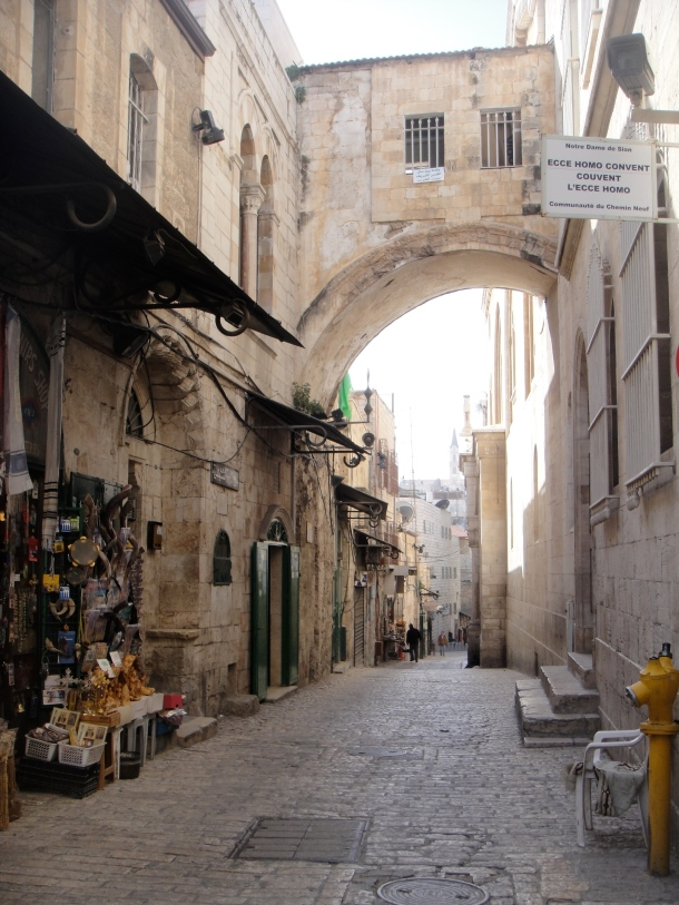 streets of jerusalem old city