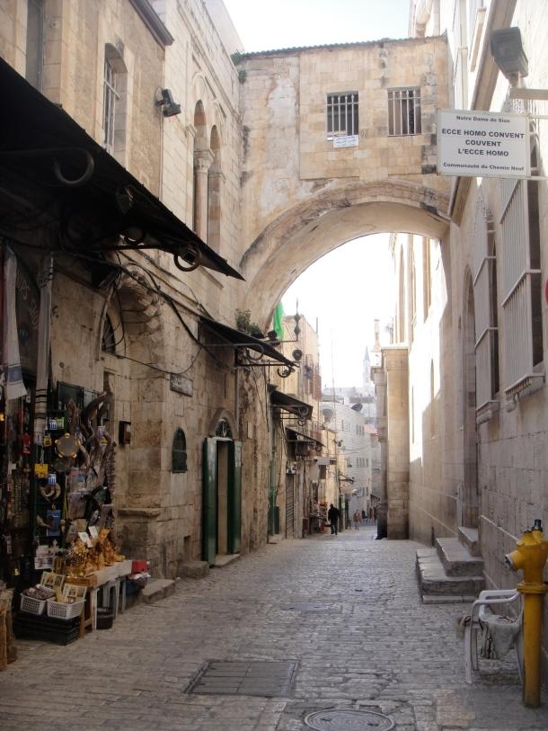 streets of jerusalem old city