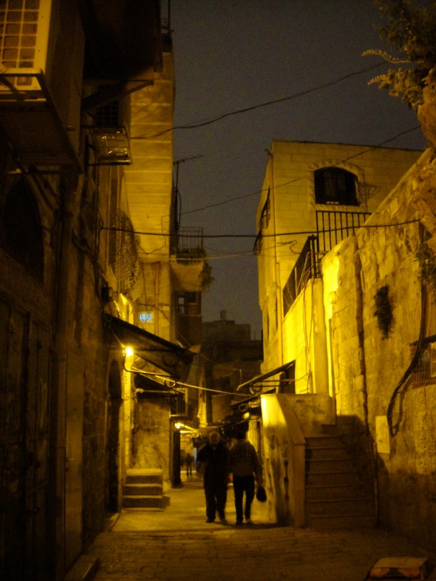 streets of jerusalems old city
