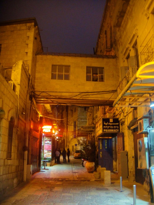 streets of old city jerusalem