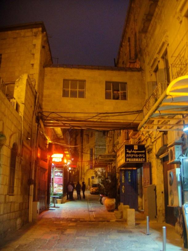 streets of old city jerusalem