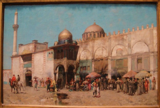 Alberto Pasini A Mosque