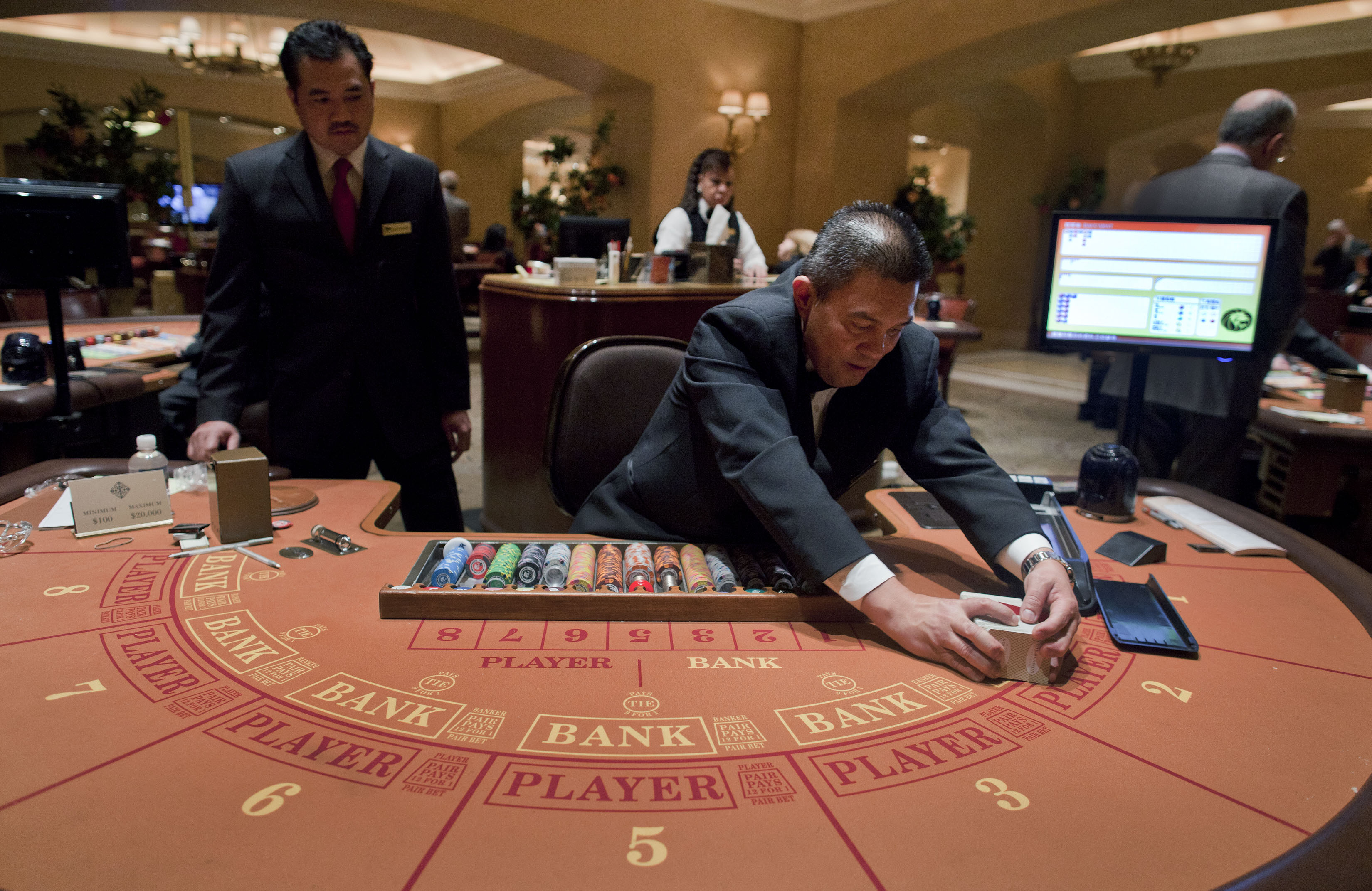Baccarat Table Game
