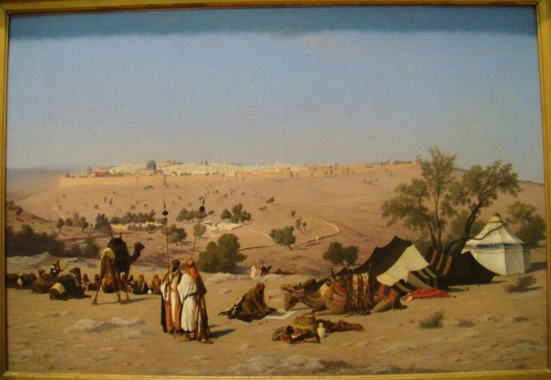 Charles-Théodore Frère Jerusalem from the Environs