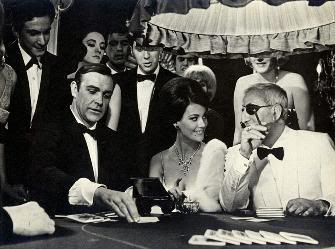 james bond baccarat