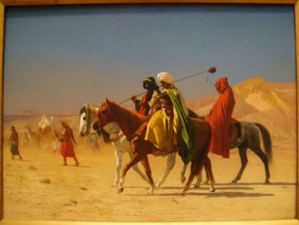 Jean-Léon Gérôme Arabs Crossing the Desert
