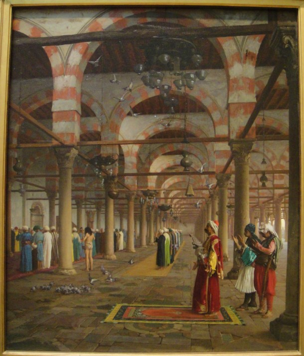 Jean-Léon Gérôme Prayer in the Mosque