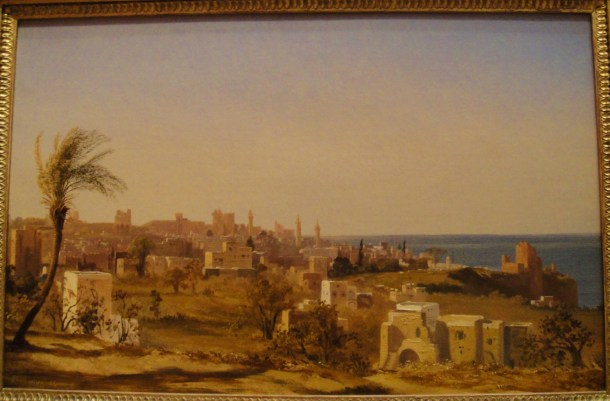 Jules Coignet View of Beirut