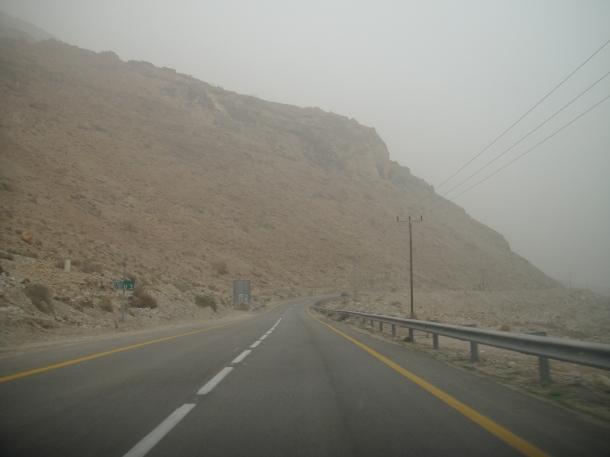 palestine sandstorm