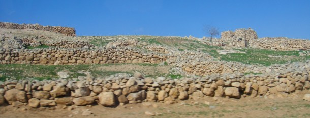 rock walls palestine