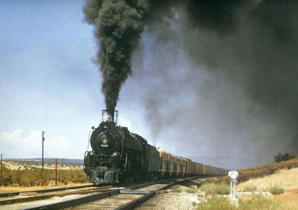 steam freight train