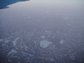 Flying Over TheArctic