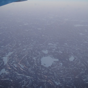 Flying Over The Arctic