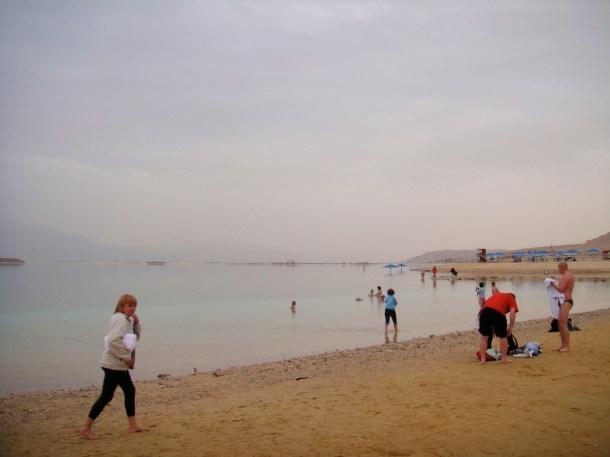 dead sea tourists