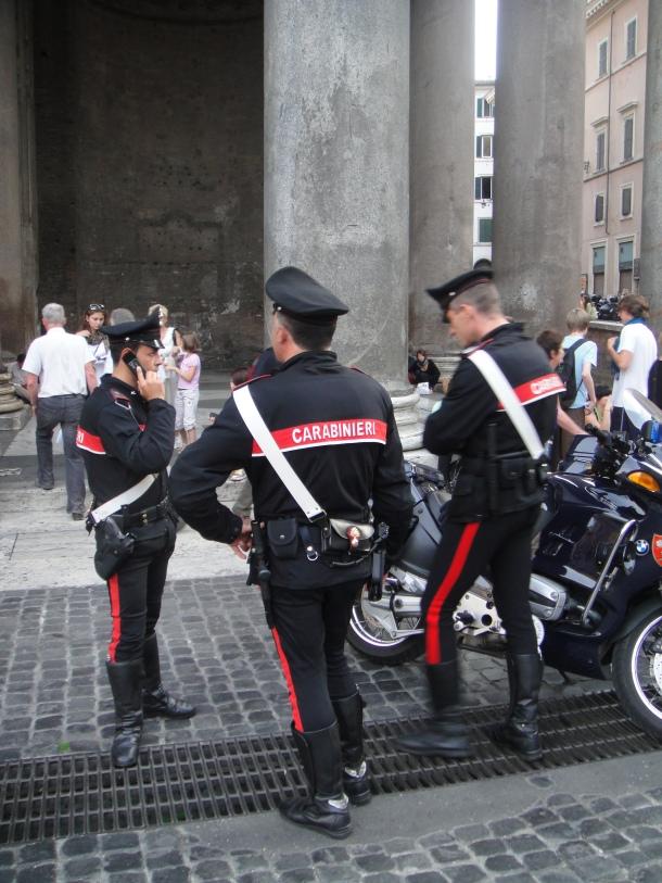 motorcycle carabinieri