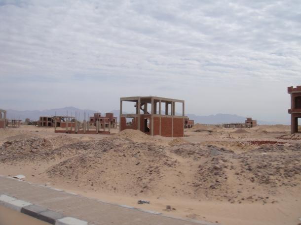 abandoned construction sinai