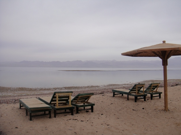 empty beach sinai