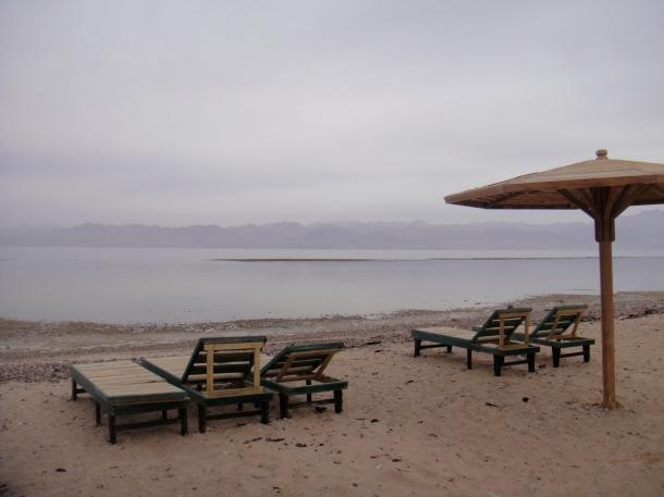 empty beach sinai