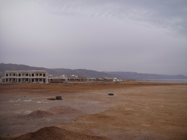 empty landscape sinai
