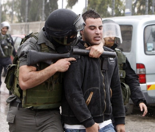 palestinian arrested
