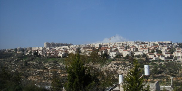 west bank settlement expansion