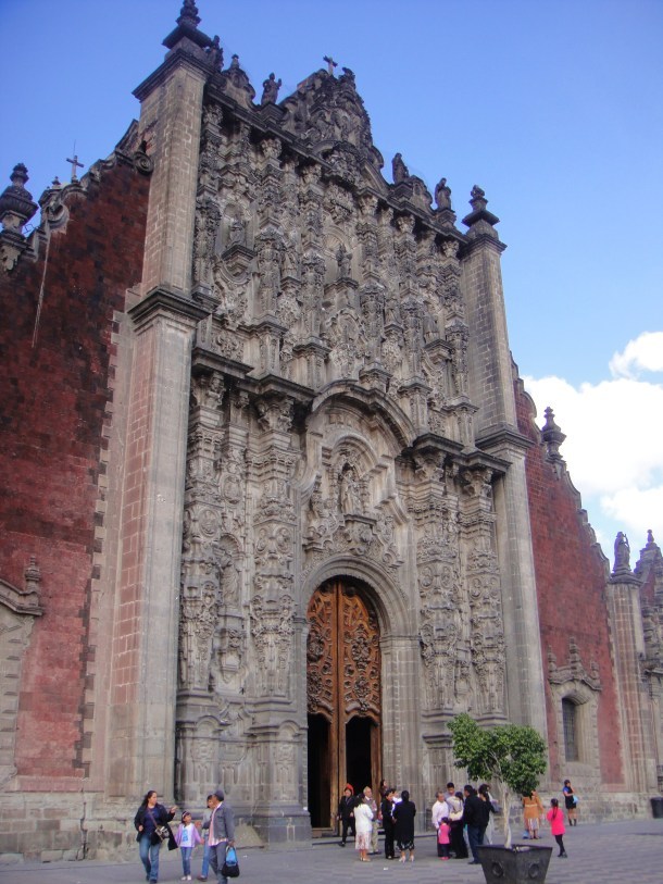 catedral metropolitana mexico city