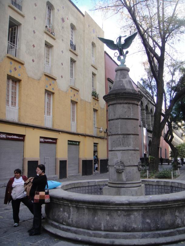 fountain mexico city
