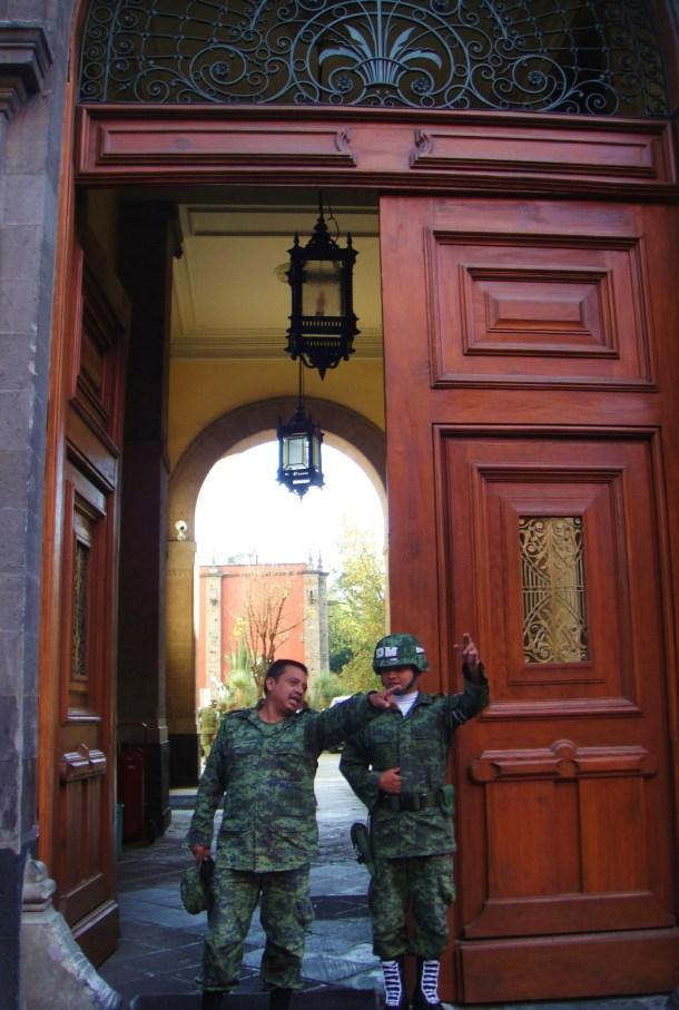 military police mexico city