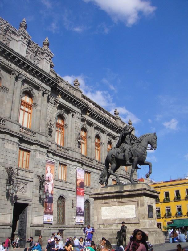 plaza manuel tolsa mexico city