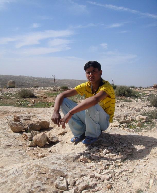 palestinian-villager